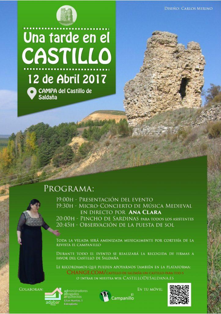 Cartel Una tarde en el Castillo
